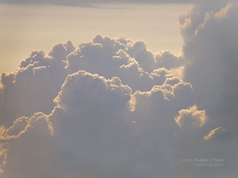 He displays his power in the whirlwind and the storm. The billowing clouds are the dust beneath his feet. (Nah 1:3) NLT